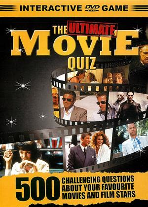 film interactive quiz rent the ultimate movie quiz interactive dvd game 2006