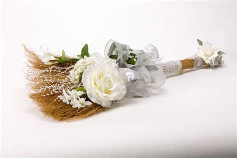 Wedding Ceremony Jumping The Broom by Heavens Touch Wedding And Event Planner Wedding