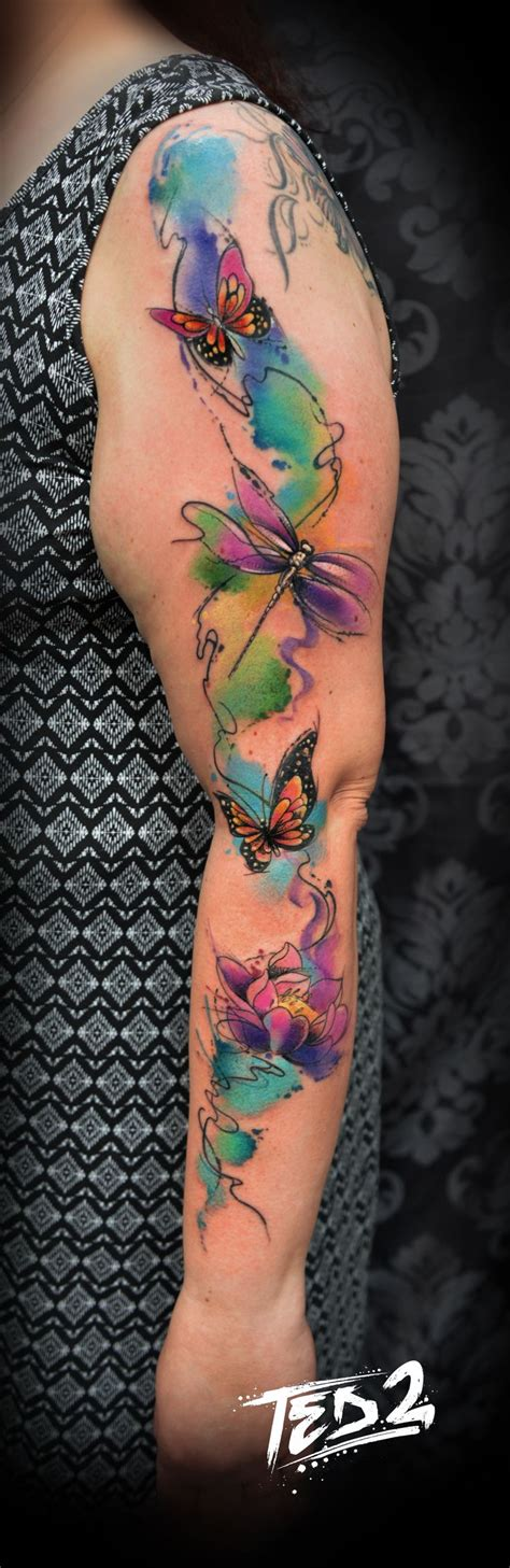 58 best watercolour tattoo images on pinterest