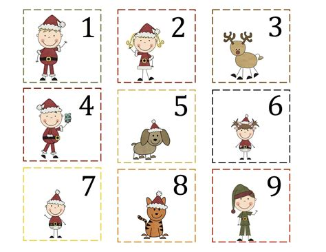 printable calendar numbers christmas new calendar 5 best images of printable christmas calendar numbers