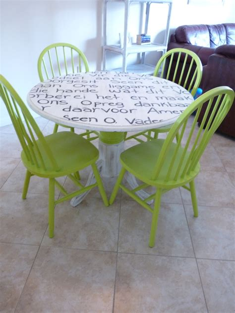 31 Best Painted Dining Room Table And Chairs Images On Painted Dining Room Table And Chairs