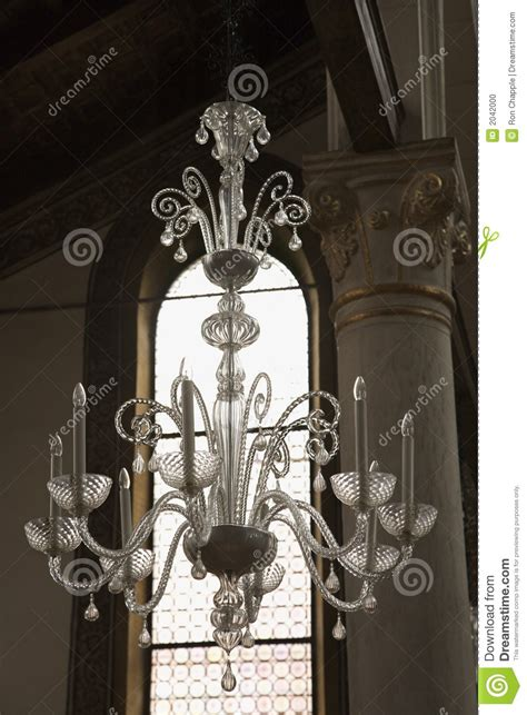 Hanging From A Chandelier Chandelier Hanging From Ceiling Stock Photo Image 2042000