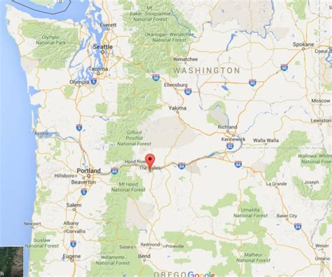 the dalles oregon map cloud platform opens its west coast region