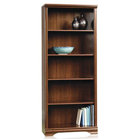 Big Lots Bookcases sauder 174 5 shelf bookcase big lots