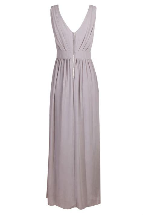 Dress Maxy Grey tfnc debby maxi grey dress tfnc dresses