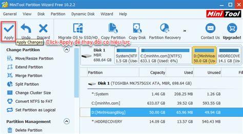 Format Flashdisk Dengan Minitool Partition | minitool partition wizard professional 10 2 2 hướng dẫn