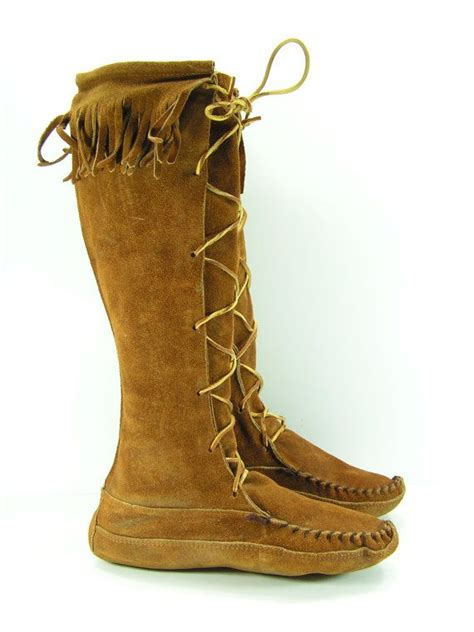 mens indian moccasins boots american moccasin boots for www imgkid