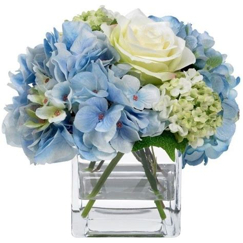 light blue flower arrangements image result for blue hydrangea light yellow flower with