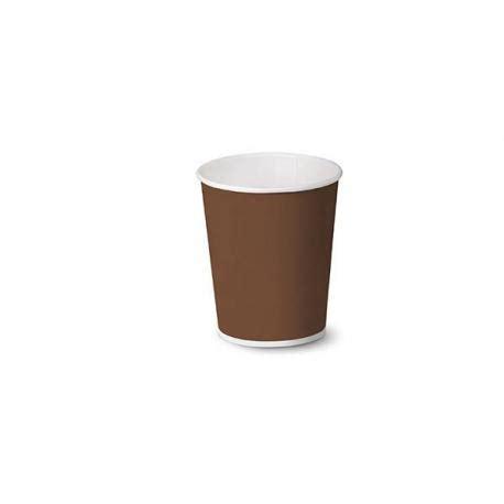 bicchieri caffe bicchiere per caff 232 brown 4oz ecoshopping