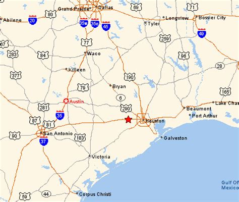 where is katy texas in the map texas map katy