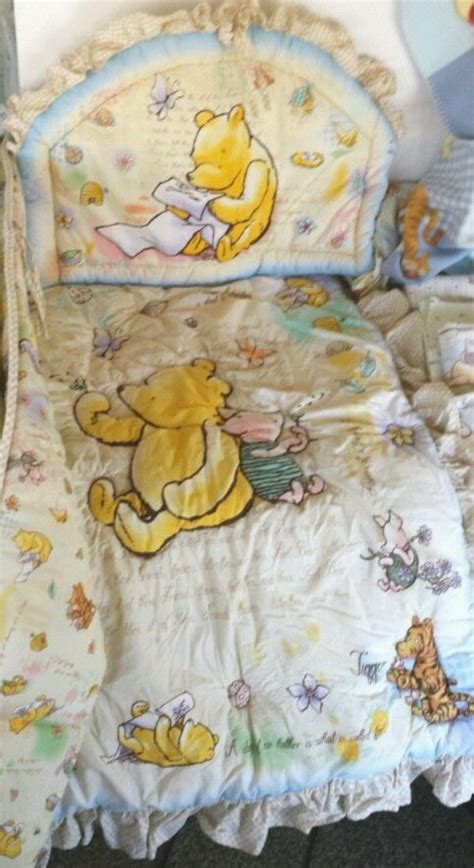 Disney Classic Pooh Crib Bedding 17 Best Images About Winnie The Pooh Collectibles On Disney Cookie Jars And