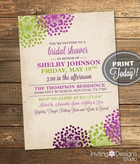 printable vintage bridal shower invitations wedding shower invitation vintage bridal shower floral