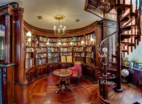 building a custom home library remodeling