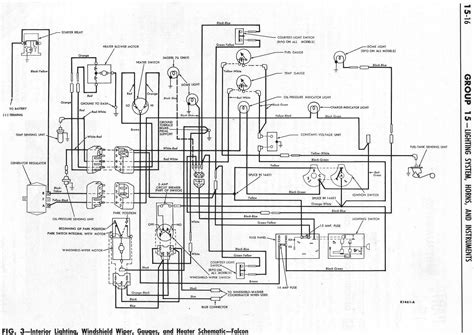 ba falcon wiring diagram efcaviation