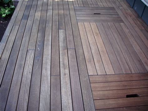 composite deck ipe or composite decking