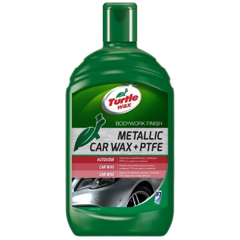 Turtle Metallic Car Wax by Turtle Wax Metallic Car Wax Ptfe 500ml 1olej