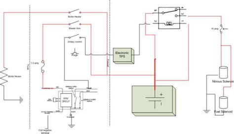 msd 7al3 wiring diagram for nitrous electrical schematic