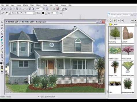 Landscape Design Software Curb Appeal Earthscapes Curb Appeal Makeover With Landscape Design
