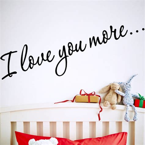 Sticker Wallpaper I Loved You i you more quote design wall stickers 8178 decorative vinyl wall decals mural wallpaper