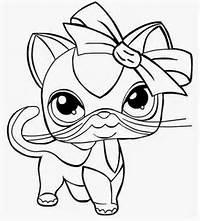 Malowanki Kolorowanki Do Druku I Rysowanie Pet Shop Kotki Pictures