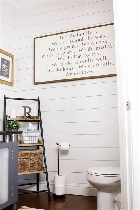 diy shiplap tutorial   diy  white wood wall easy