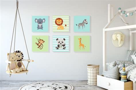 bild kinderzimmer zebra leinw 228 nde f 252 rs kinderzimmer geschenkideen
