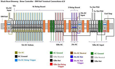 terminal block diagram terminal block wiring diagram module wiring diagram