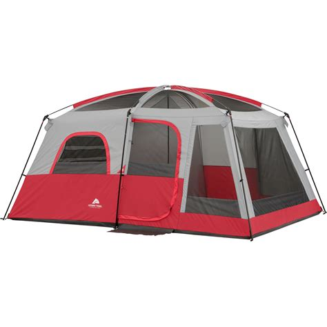 cabin tents ozark trail 10 person 2 room cabin tent ebay