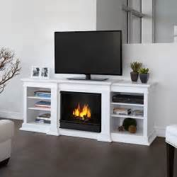 fresno 72 quot tv stand with gel fireplace modern