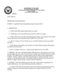Army Sop Template by 11 Best Images Of Navy Memo Format Word Document Record
