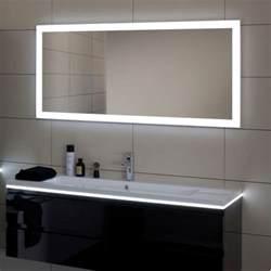 miroir salle de bain led luz sanijura 100 cm