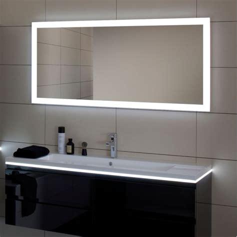 miroir salle debain miroir salle de bain led luz sanijura 100 cm