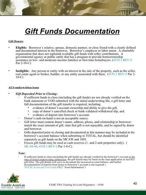 Gift Letter Refinance fha loan gift letter requirements docoments ojazlink