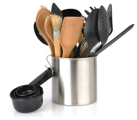 modern kitchen tools berghoff tub of tools 23 piece contemporary kitchen