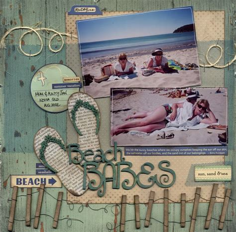 scrapbook layout beach beach scrapbook layouts bing images a scrapbook page