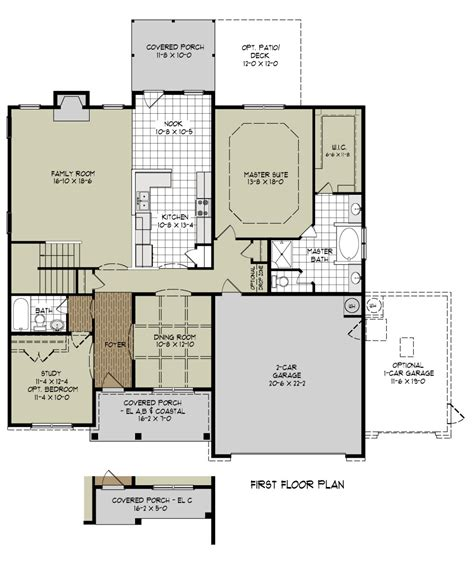 Layout Of New House | new house floor plans 2018 house plans and home design