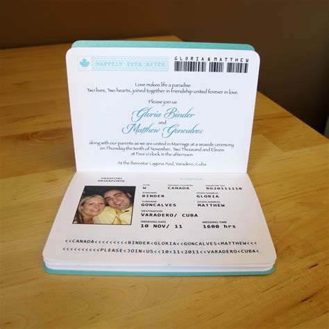 wedding invitations for marrying abroad 17 best ideas about passport invitations on