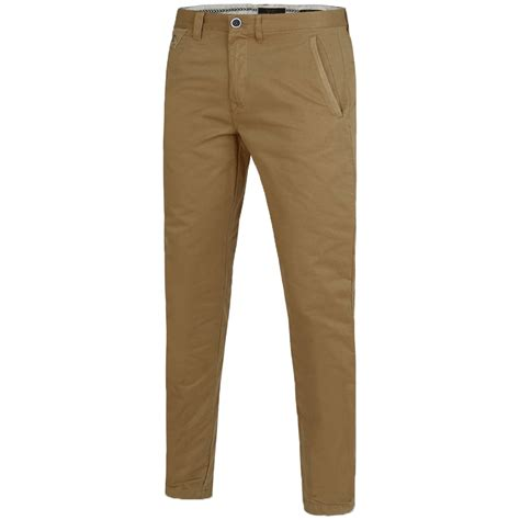Cotton Pant new mens casual slim fit cargo chino trousers