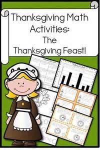 thanksgiving problem solving activities thanksgiving math activities the thanksgiving feast