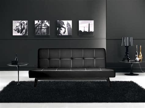 salotto sofa divano letto 3 posti reclinabile salotto ecopelle nero
