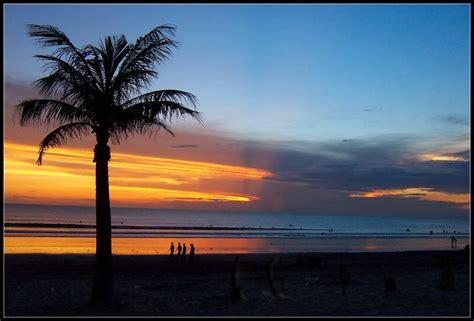 senja  pantai kuta  photo  bali nusa tenggara