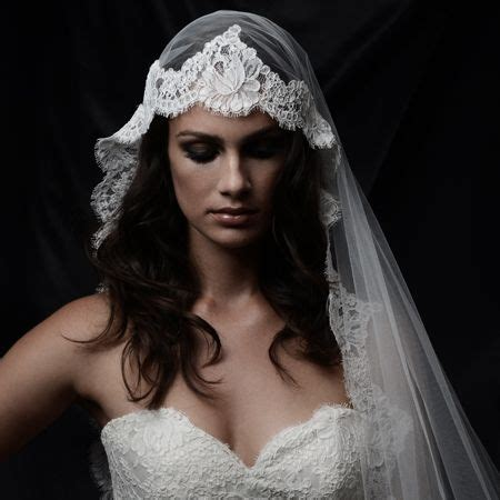hairstyles with mantilla veil 100 ideas to try about veils and hair accessories the