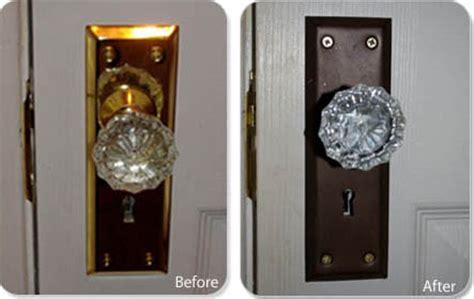 Refinish Door Knobs by How To Refinish Door Hardware In Six Steps