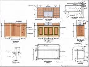 Primo Grill Table Plans Outdoor Kitchen Floor Plans Bbq Island Plans Outdoor Bbq