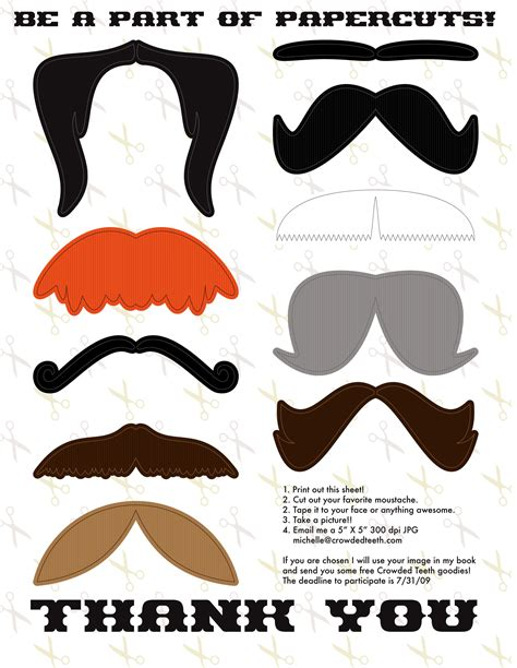 photo booth props template 9 best images of mustache printable photo props free