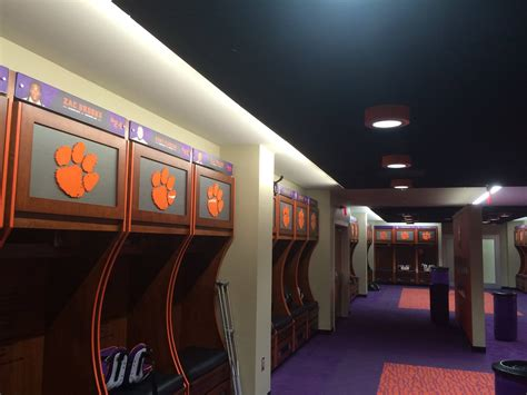 locker room co clemson football locker room clements electrical electrical company in seneca sc