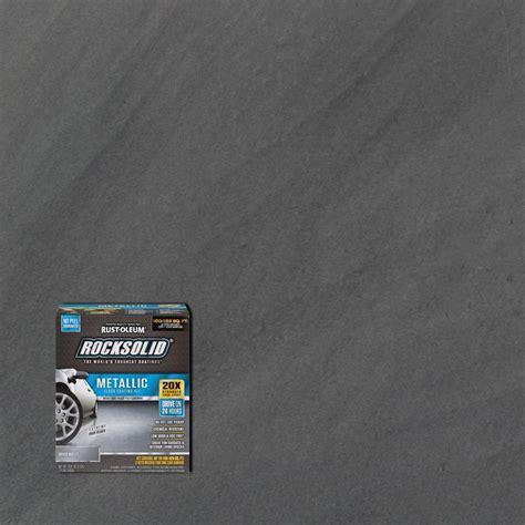 Rust Oleum RockSolid 70 oz. Metallic Silver Bullet Garage