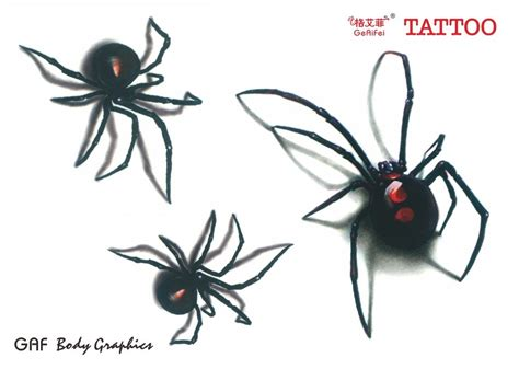 3d spider tattoo designs 3d spider stencil tattooic