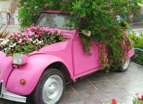 Car Planter flower pots a beautiful way to brighten your house find projects to do at home and
