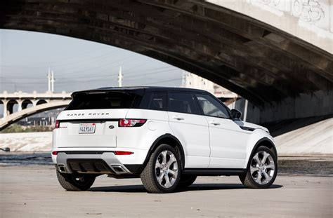 range rover evoque back 2015 land rover range rover evoque first test motor trend